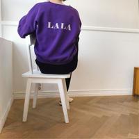 ✳︎予約販売✳︎裏起毛LALA mtm/パープル