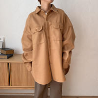 《予約販売》 over warm shirt jk/3colors_no0107