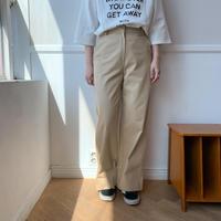 ✳︎予約販売✳︎wide chino PT/2colors