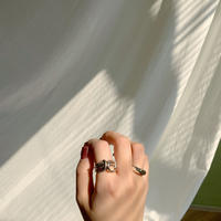 ✳︎予約販売✳︎silver925 croissant ring_na0020