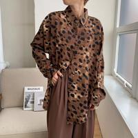 《予約販売》leopard silky blouse_nt0569