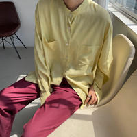 《予約販売》stand collar shirt/3colors_nt0894