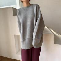 《予約販売》over lib knit/2colors_nt0665