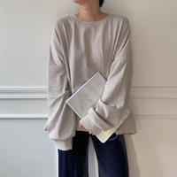 ✳︎予約販売✳︎naturally tops/2colors_nt0135