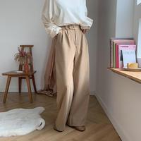 ✳︎予約販売✳︎_simply wide pants/2colors_np0084