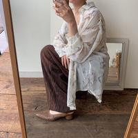 《予約販売》ennui pattern blouse_nt0392