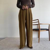 《予約販売》twill wide pants/3colors_np0472