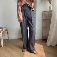 ✳︎予約販売✳︎straight long pants/2colors_np0057