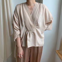 ✳︎予約販売✳︎soft blouse/3colors_nt0058