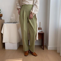 《予約販売》tuck lady pants/2colors_np0153