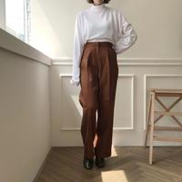タックロングスラックス/2colors