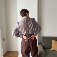 《予約販売》glossy satin blouse_nt0852
