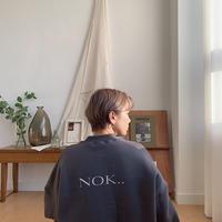 """【NOKCHA original】""""NOK..""""mtm/charcoal gray_nt0227"""
