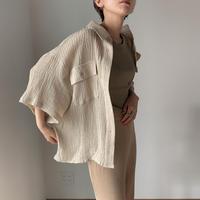 《予約販売》rincl linen shirt/2colors_nt0491