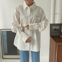《予約販売》back slit over shirt/3colors_nt0835