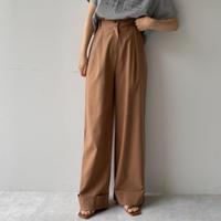 《予約販売》roll up long pants/2colors_np0386