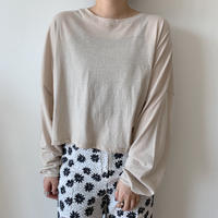 *予約販売*loose croped T/3colors