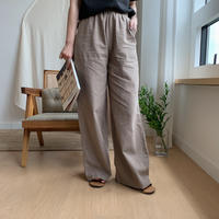 *予約販売*linen easy long pt/2colors