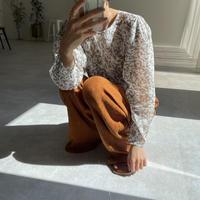 《予約販売》mosaic sheer blouse/2colors_nt0884