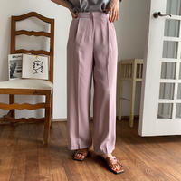 《予約販売》ennui color pants/2colors_np0216