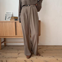 《予約販売》bottan cocoa pants_np0301