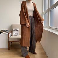《予約販売》long knit gown/2colors_nt0655