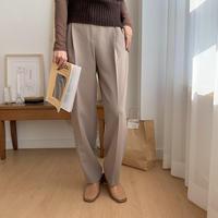 natural slacks pants/2colors_np0096