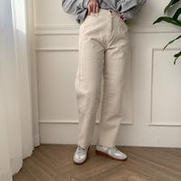 ✳︎予約販売✳︎point white jeans_np0005