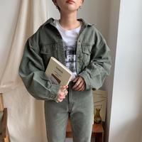 ✳︎予約販売✳︎minimal khaki jacket_no0068