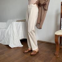 《予約販売》twill slacks pants/3colors_np0229