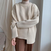 ✳︎予約販売✳︎unbalance knit_nt0111