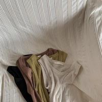 《予約販売》bokashi knit tank top/4color_nt0517