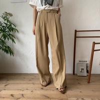 《予約販売》s/s wide chino pants _np0186