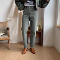 ✳︎予約販売✳︎high-waist khaki pants_np0134