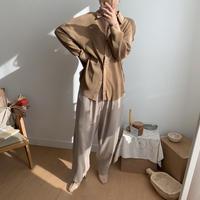 ✳︎予約販売✳︎quality lady blouse/2colors_nt0275