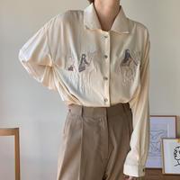 《予約販売》embroidery blouse_nt0351