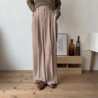 《予約販売》bottan long slacks/2colors_np0169