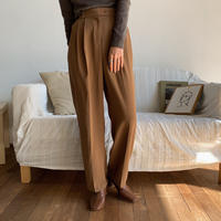 《予約販売》daily camel pants_np0290