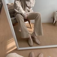 ✳︎予約販売✳︎slit velvet pants_np0124