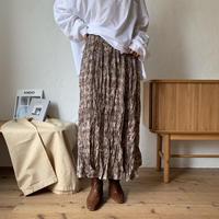 《予約販売》python rincl skirt/2colors_ns0047