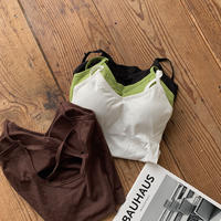 《予約販売》bra top cami/4colors_nt0371