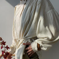 【nokcha original】2way volume blouse/ ivory_nt0841