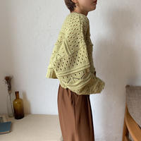 《予約販売》minimal pattern knit/2colors_nt0640
