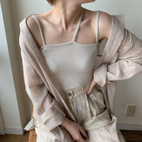 《予約販売》three cami/2 colors_nt0372