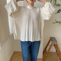 《予約販売》pleats raglan blouse/2colors_nt0561