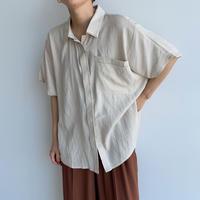 《予約販売》pocket stich blouse/2colors_nt0975