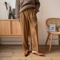 《予約販売》stitch slacks pants_np0298