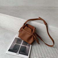 《予約販売》porch set minimal bag/camel_na0207