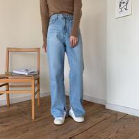 《予約販売》casual slit jeans_np0161