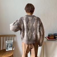 《予約販売》dia knit/2colors_nt0200